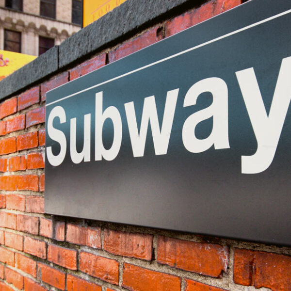 Subway Sign